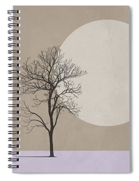 Winter Morning Tree Spiral Notebook
