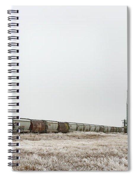 Winter Sentinel Spiral Notebook