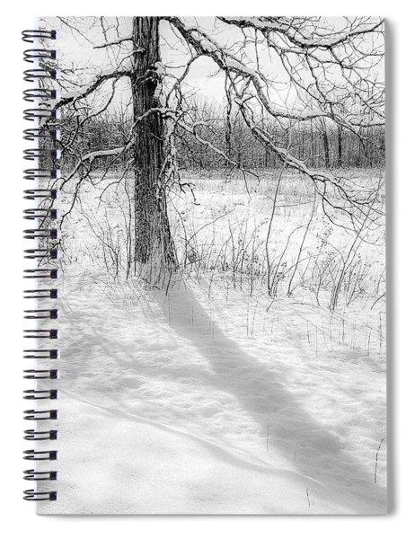 Winter Simple Spiral Notebook