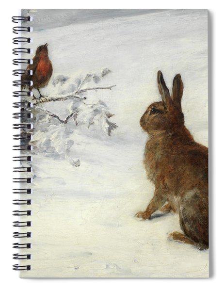 Winter Song Spiral Notebook