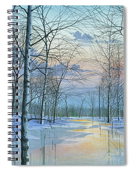 Winter Spectacle Spiral Notebook