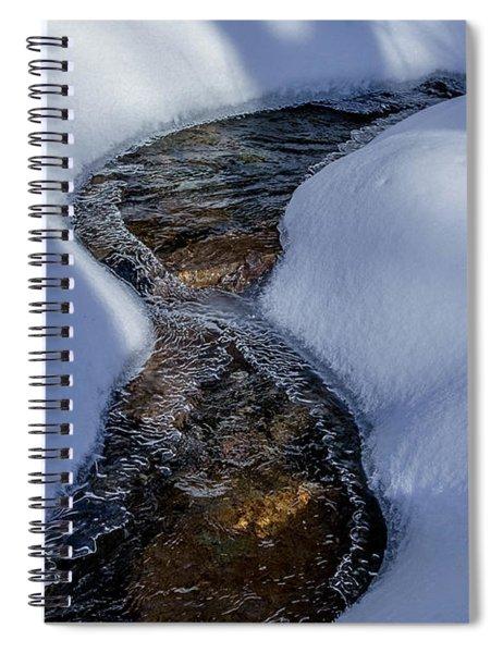 Winter Stream. Spiral Notebook