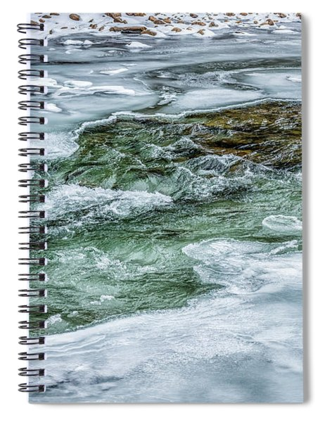 Winter View Williams River Spiral Notebook