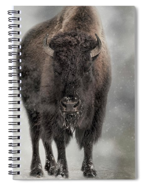 Winter Warrior Spiral Notebook