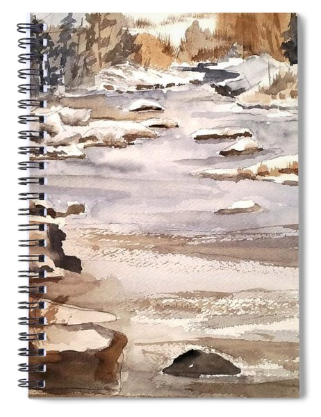 Winters Day Spiral Notebook