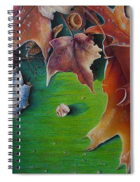 Winter's Prerequisite Spiral Notebook