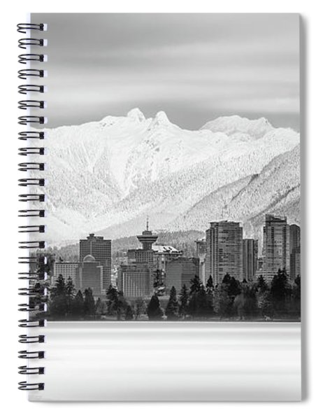 Winterscape Vancouver Spiral Notebook