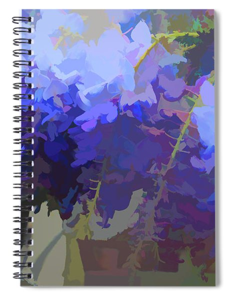 Wisteria Colours Spiral Notebook