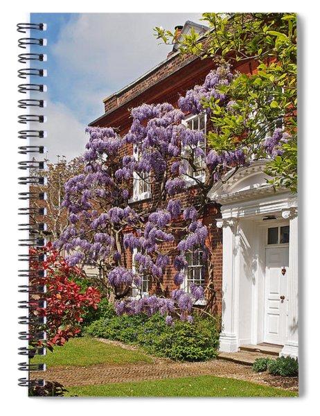 Wisteria House Spiral Notebook