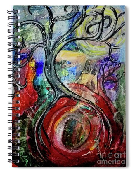 Witching Tree Spiral Notebook
