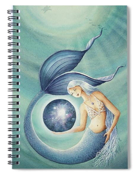 With Gratitude The Universe Is Hers Spiral Notebook
