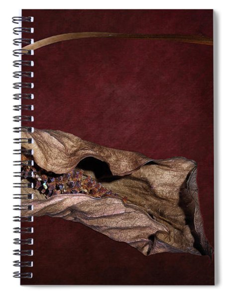 Withered Beauty Spiral Notebook