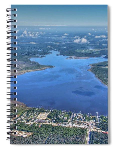 Wolf Bay Alabama Spiral Notebook