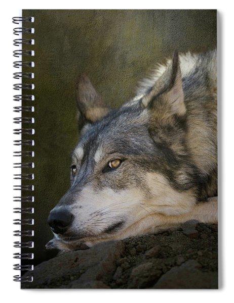 Wolf Watch Spiral Notebook