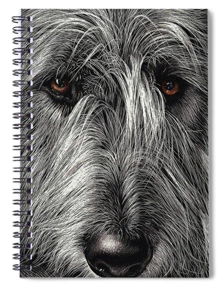 Wolfhound Spiral Notebook