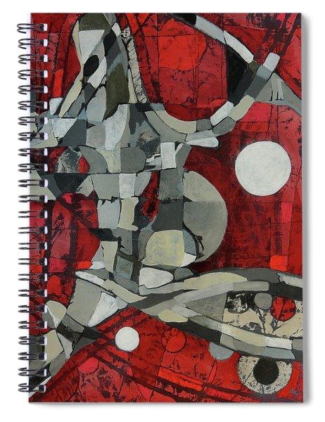 Woman Man Woman Spiral Notebook