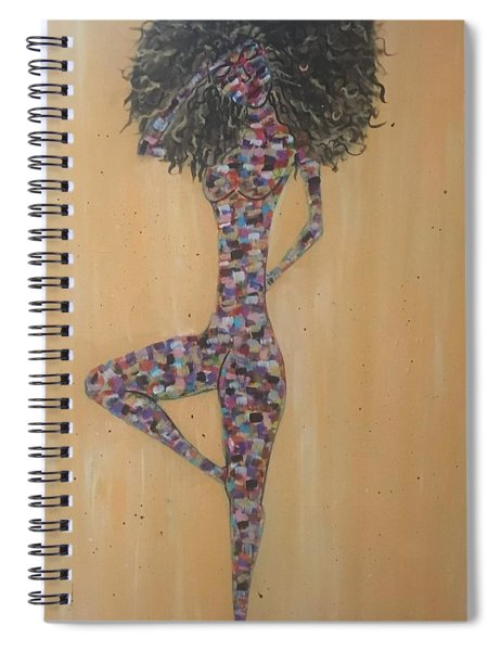Woman Of Color IIi Spiral Notebook
