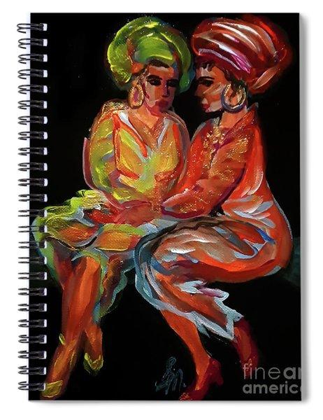 Women In Conversation Spiral Notebook