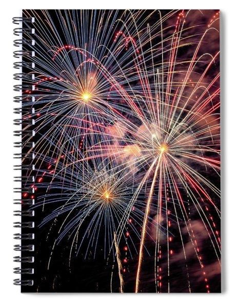 Wonderful World Of Color Spiral Notebook