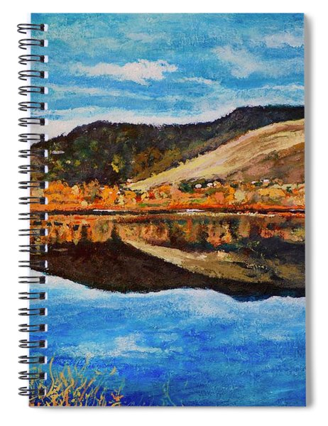 Wonderland Lake Spiral Notebook
