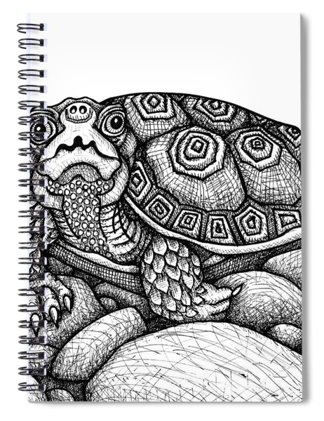 Wood Turtle Spiral Notebook