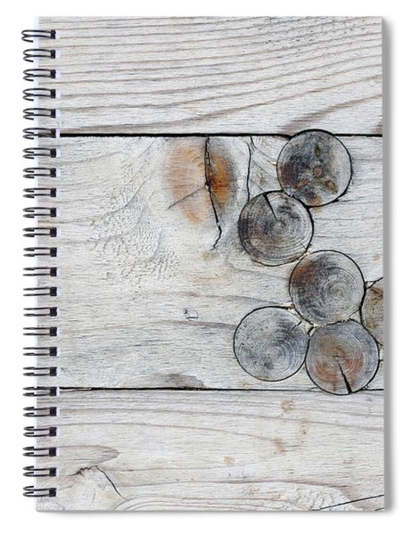 Wood With Knots Spiral Notebook