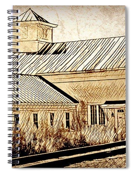 Wood Workers Shop Roxbury Vermont Spiral Notebook