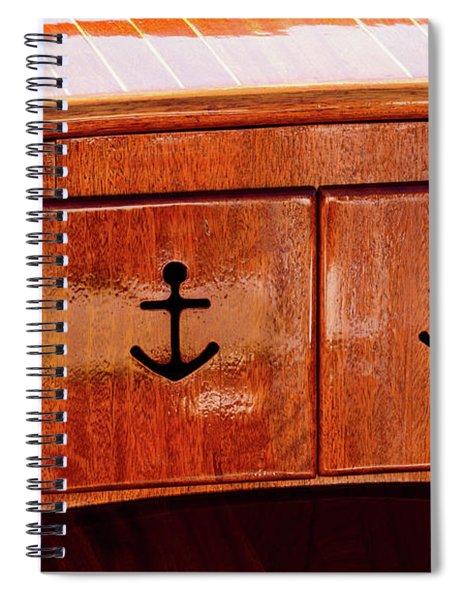 Wooden Cabinet Spiral Notebook