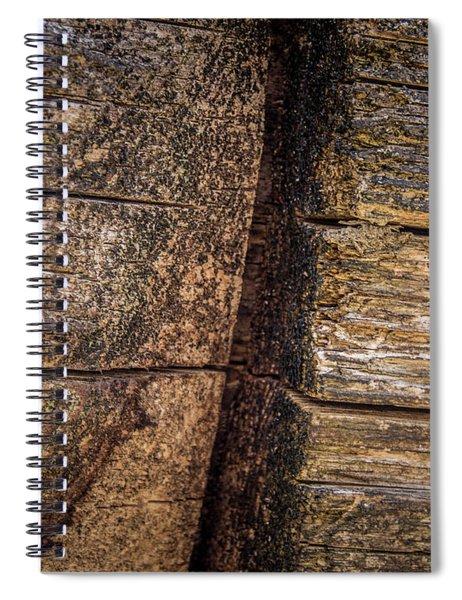 Wooden Wall Spiral Notebook