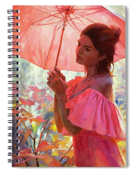 Woodland Dreams Spiral Notebook by Steve Henderson
