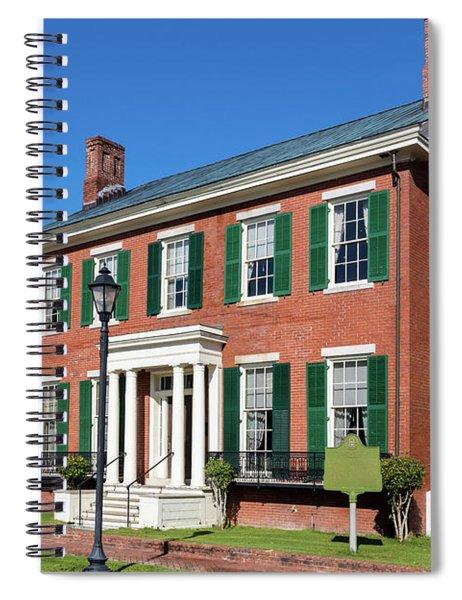 Woodrow Wilson Boyhood Home - Augusta Ga 3 Spiral Notebook
