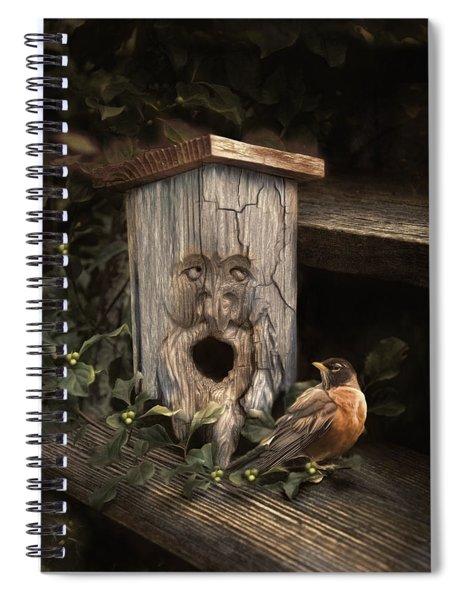 Woodsprite Spiral Notebook