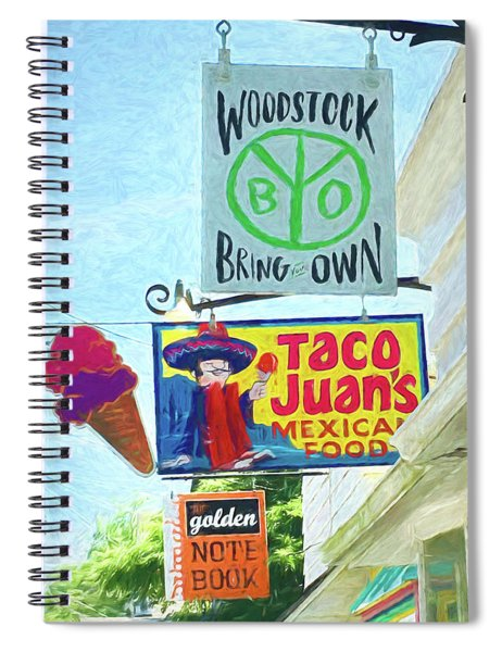 Woodstock Peace And Love 2 Spiral Notebook