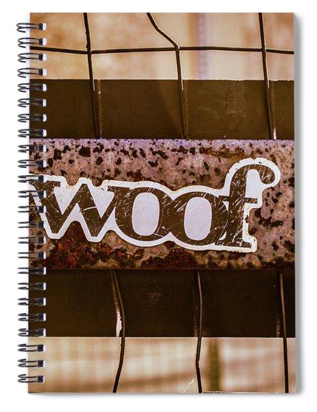 Woof Spiral Notebook