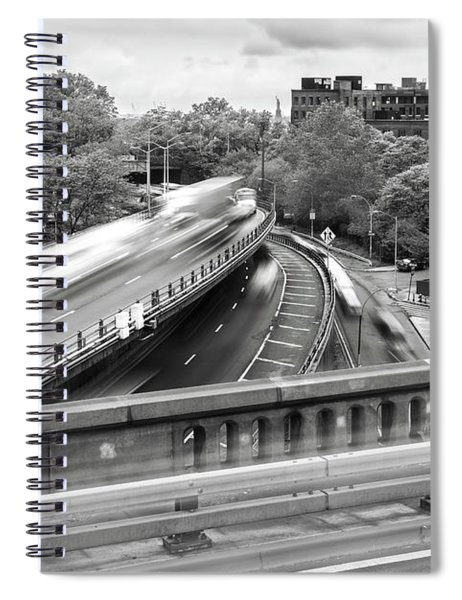 Wooosh You Were Here In Brooklyn Spiral Notebook