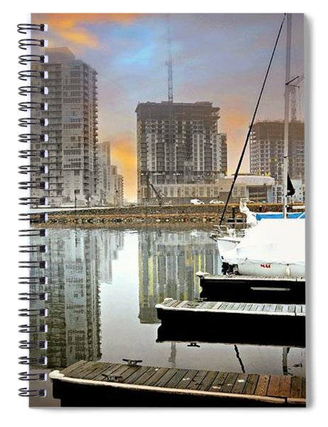 Work Play Live Spiral Notebook