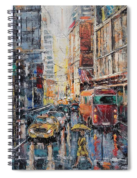 Workday II Spiral Notebook