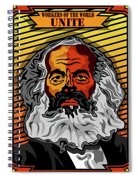 Workers Of The World Unite Spiral Notebook