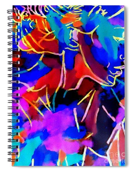 Inner Depths Spiral Notebook