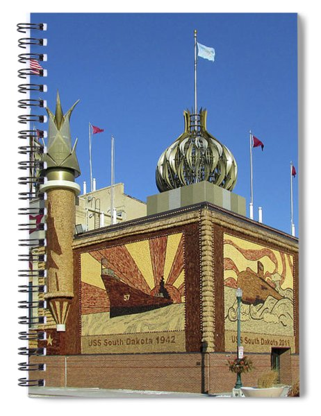 Worlds Only Corn Palace 2018-19 Spiral Notebook