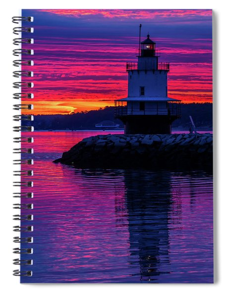 Wow Sunrise Spiral Notebook