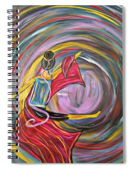Wrapped In Love Spiral Notebook