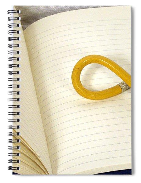 Writers Block Spiral Notebook
