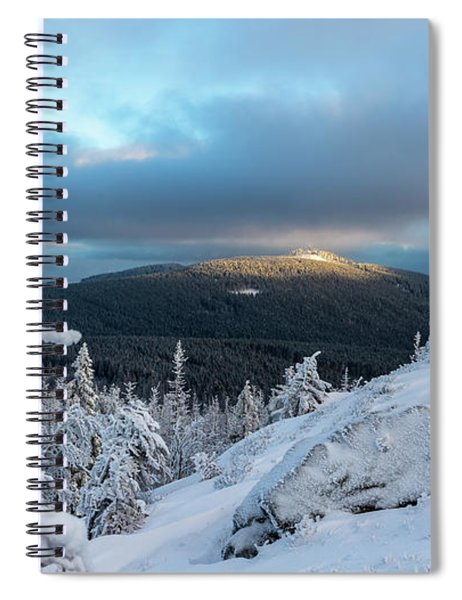 Wurmbergblick, Harz Spiral Notebook