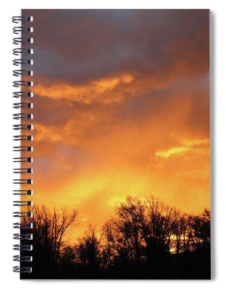 Wyoming Sunrise Spiral Notebook