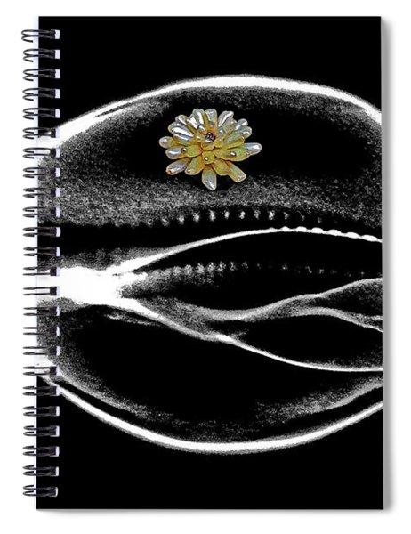 X-ray Art Photograph. Spiral Notebook