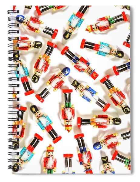 Xmas Guard Spiral Notebook