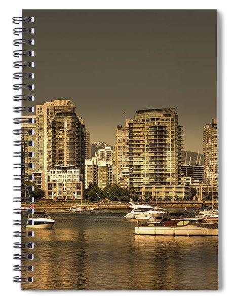Yaletown Golden Hour Spiral Notebook