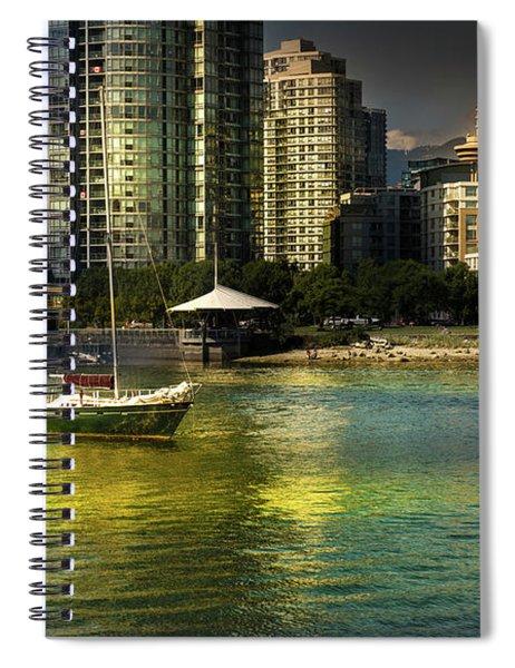 Yaletown Sunset Spiral Notebook