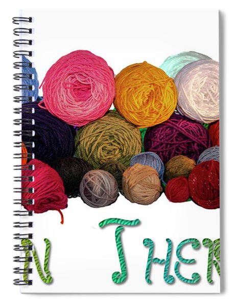 Yarn Therapy Spiral Notebook